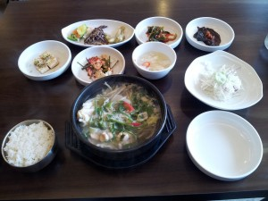 Korean table