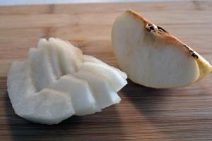 pera coreana a fette naengmyeon