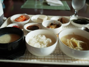Korean breakfast