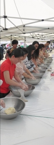 makgeolli making
