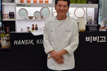 chef Sang Korea pavilion