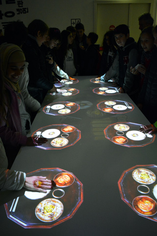 interactive exhibition Hansik