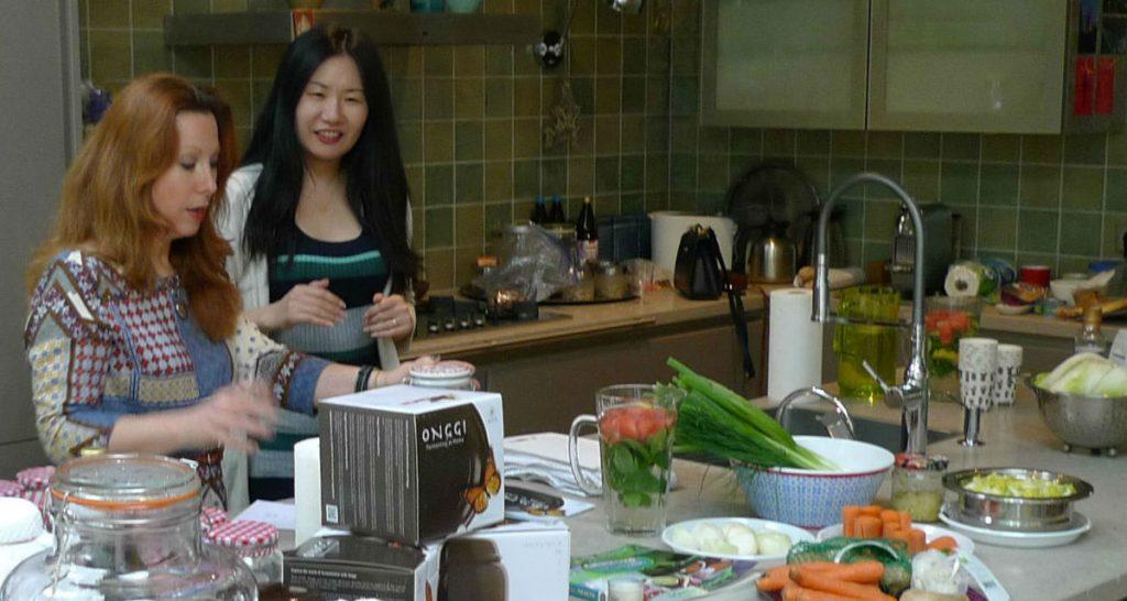 Eliefs kimchi making workshop