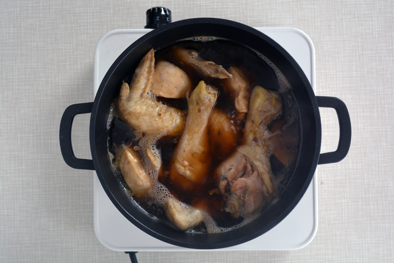 jjimdak cuocere pollo