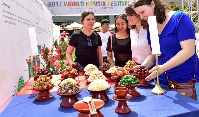 world hansik festival visitors