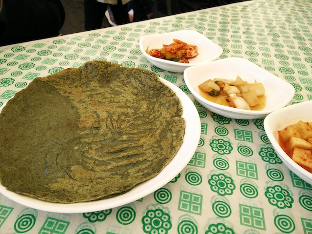 Jeju Canola flower festival food