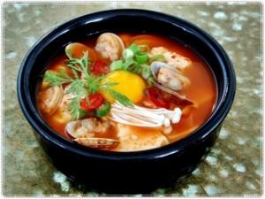 sundubujjigae - soft tofu stew