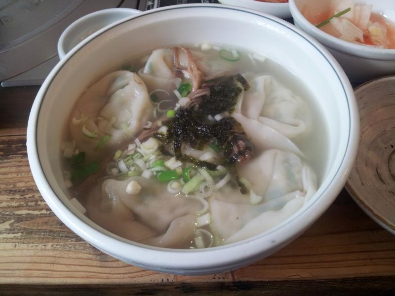 manduguk - dumpling soup