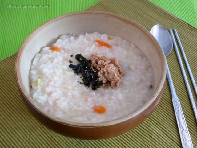 tuna porridge