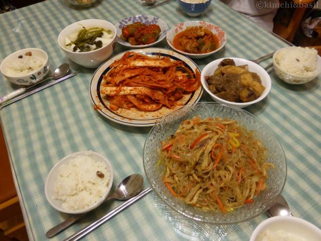 kimjang dinner