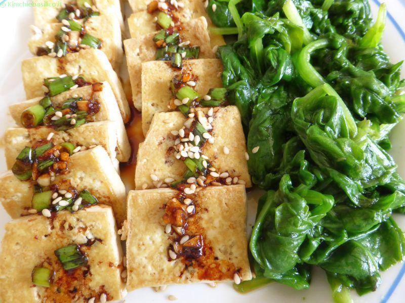 stir fried tofu
