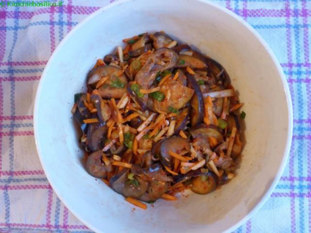 eggplant kimchi