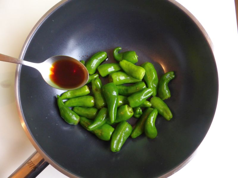 peppers soy sauce