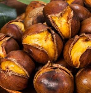 winter food chestnuts