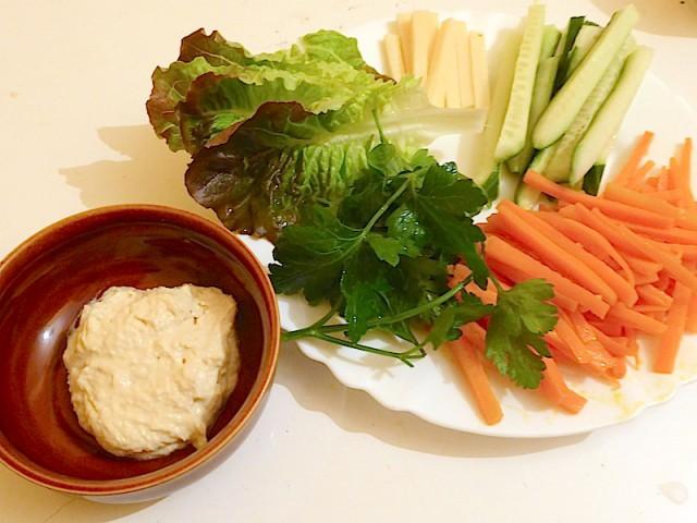 kimbap hummus ingredients