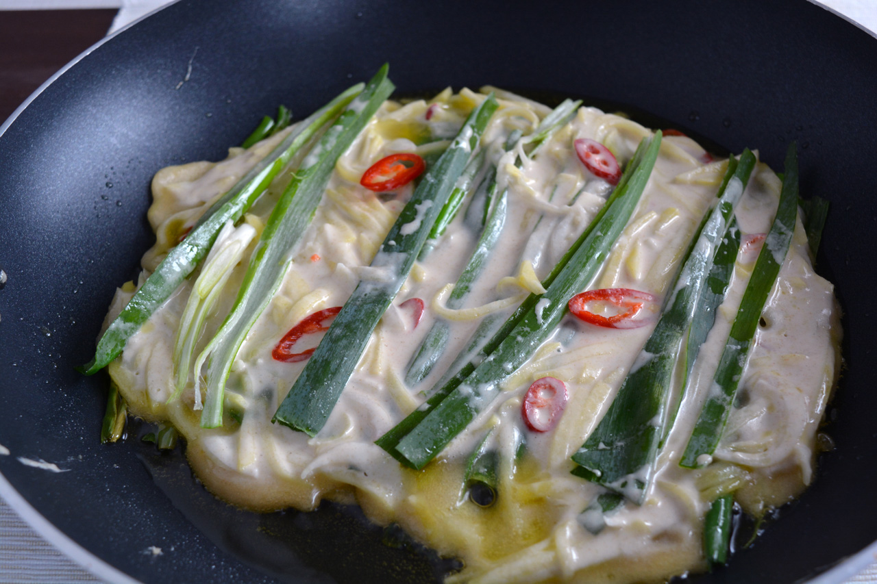 mix-pajeon-in-padella