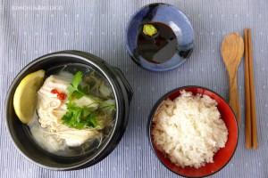 daegu jiri with rice