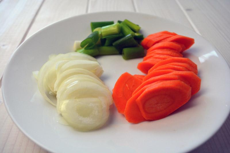 ojingeo chopped vegetables