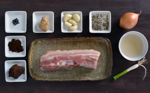 bossam carne ingredienti