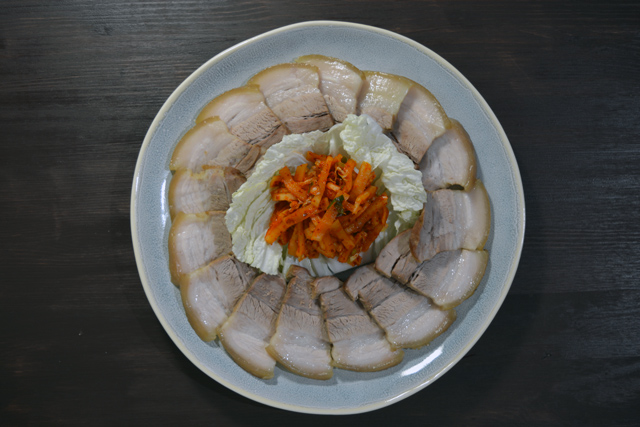 bossam radish salad top