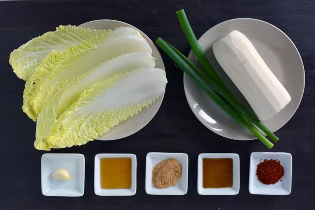 bossam radish salad ingredients