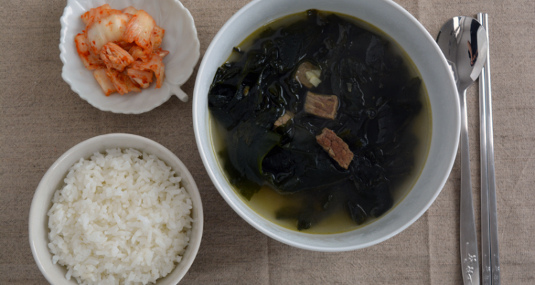 seaweed soup top