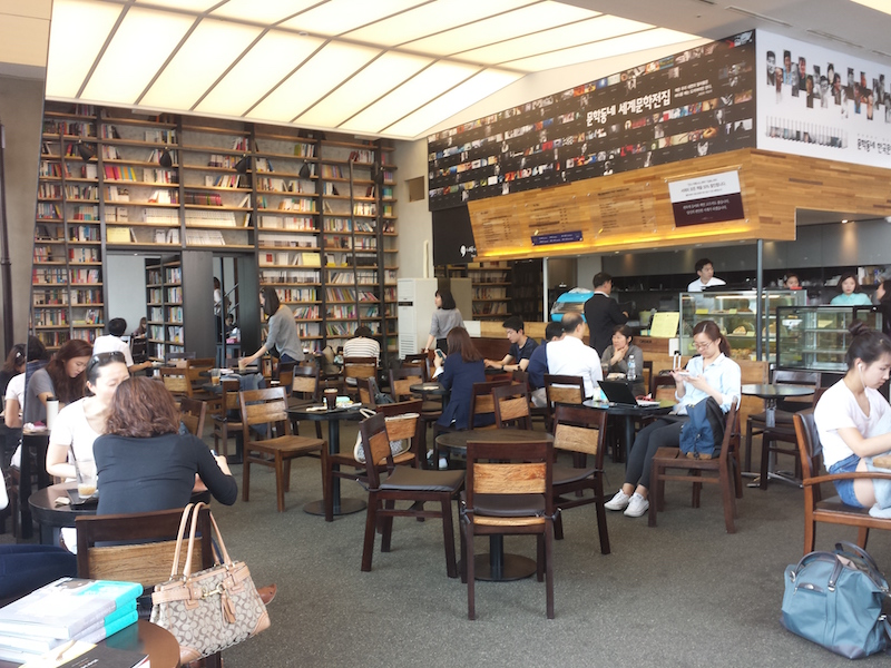 caffè comma seoul study