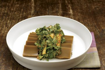 dotori muk acorn jelly salad
