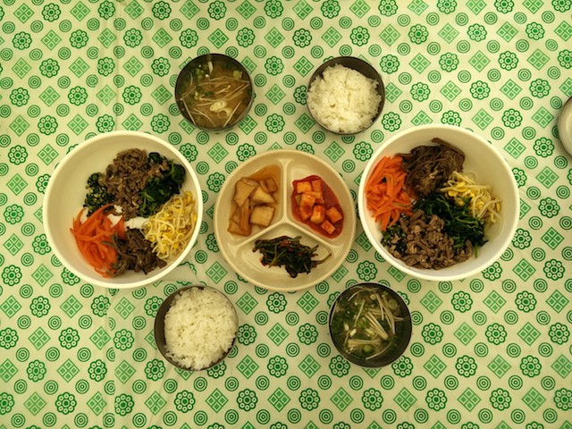 Jeju Canola flower festival food 2