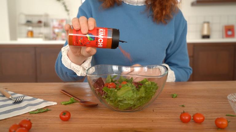 kimchi seasoning mix salad