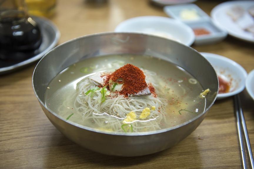 pyongyang noodles dosirak